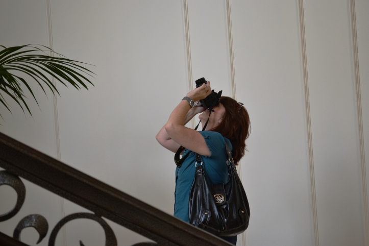 Suzy with camera