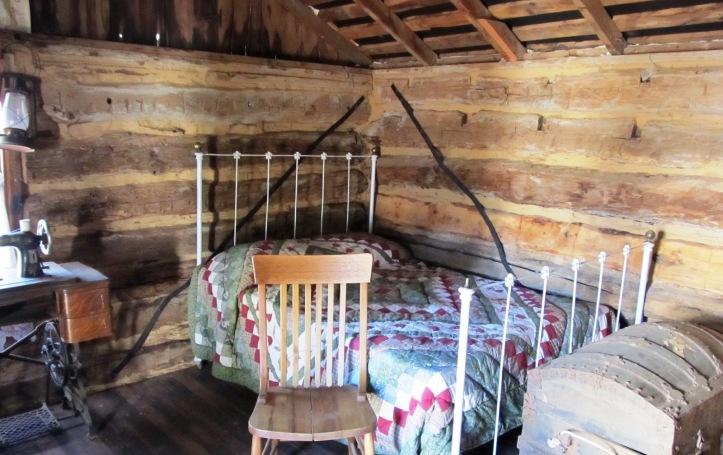 Settler's cabin Kingfisher Oklahoma