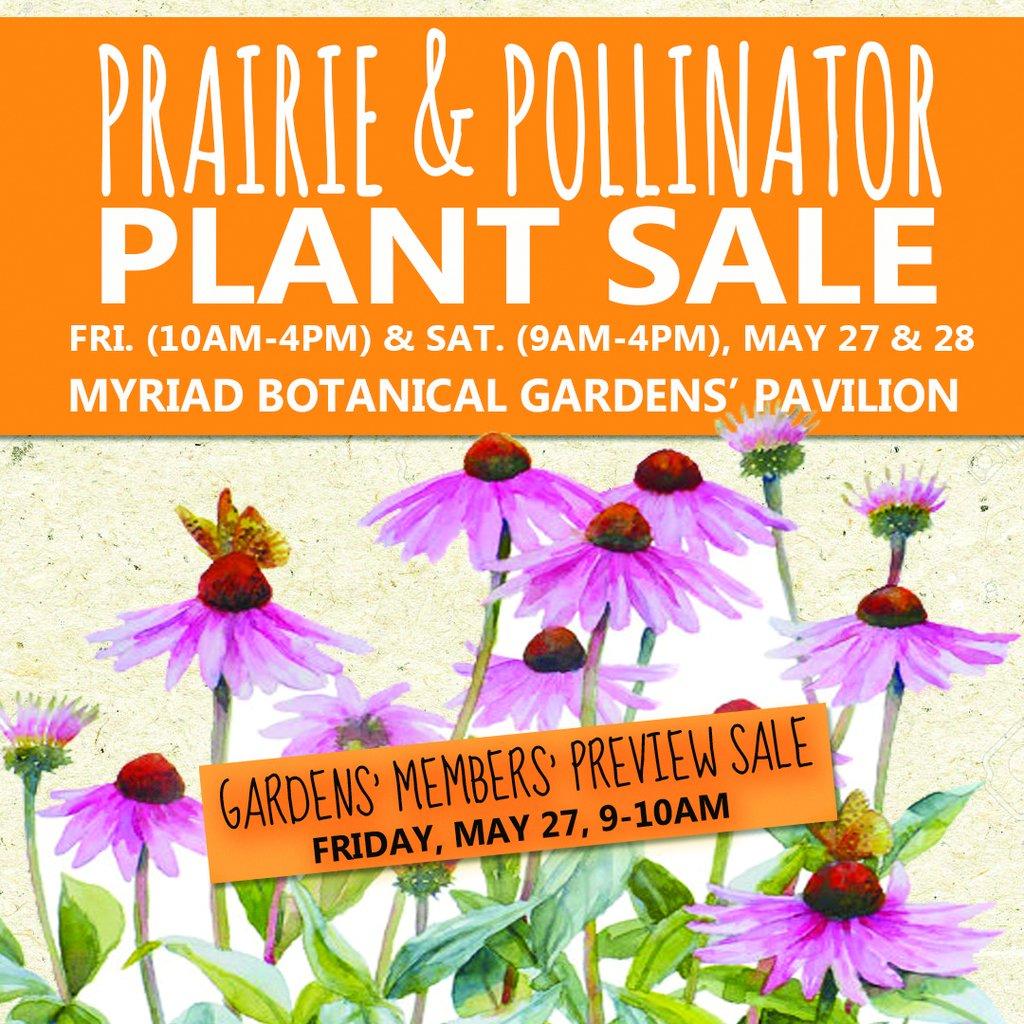 Plant sale Myriad Gardens